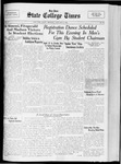 State College Times, January 2, 1933 by San Jose State University, School of Journalism and Mass Communications