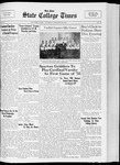 State College Times, January 10, 1933 by San Jose State University, School of Journalism and Mass Communications