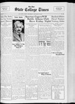 State College Times, January 12, 1933 by San Jose State University, School of Journalism and Mass Communications