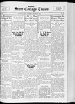 State College Times, January 17, 1933 by San Jose State University, School of Journalism and Mass Communications