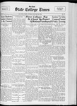 State College Times, January 24, 1933 by San Jose State University, School of Journalism and Mass Communications