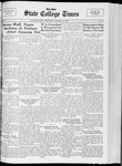 State College Times, January 26, 1933 by San Jose State University, School of Journalism and Mass Communications