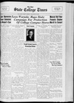 State College Times, January 27, 1933 by San Jose State University, School of Journalism and Mass Communications