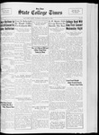 State College Times, January 31, 1933 by San Jose State University, School of Journalism and Mass Communications