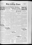 State College Times, February 2, 1933 by San Jose State University, School of Journalism and Mass Communications