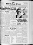 State College Times, March 3, 1933 by San Jose State University, School of Journalism and Mass Communications