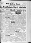 State College Times, March 9, 1933 by San Jose State University, School of Journalism and Mass Communications