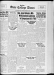 State College Times, March 31, 1933 by San Jose State University, School of Journalism and Mass Communications