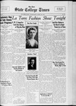 State College Times, April 26, 1933 by San Jose State University, School of Journalism and Mass Communications