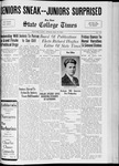 State College Times, May 19, 1933 by San Jose State University, School of Journalism and Mass Communications