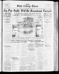 State College Times, October 13, 1933 by San Jose State University, School of Journalism and Mass Communications