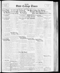 State College Times, October 18, 1933 by San Jose State University, School of Journalism and Mass Communications