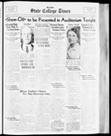 State College Times, October 19, 1933 by San Jose State University, School of Journalism and Mass Communications