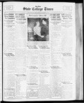 State College Times, October 24, 1933 by San Jose State University, School of Journalism and Mass Communications