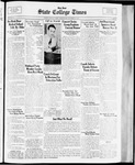 State College Times, October 25, 1933 by San Jose State University, School of Journalism and Mass Communications