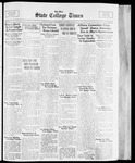 State College Times, October 27, 1933 by San Jose State University, School of Journalism and Mass Communications