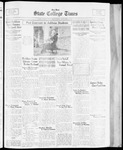 State College Times, November 8, 1933 by San Jose State University, School of Journalism and Mass Communications