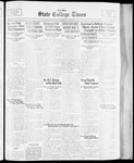 State College Times, November 15, 1933 by San Jose State University, School of Journalism and Mass Communications