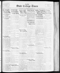 State College Times, November 16, 1933