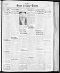 State College Times, November 22, 1933