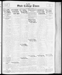 State College Times, December 12, 1933