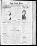 State College Times, December 14, 1933