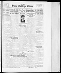 State College Times, January 9, 1934