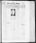 State College Times, January 30, 1934 by San Jose State University, School of Journalism and Mass Communications