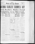 State College Times, March 1, 1934 by San Jose State University, School of Journalism and Mass Communications