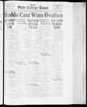 State College Times, March 2, 1934 by San Jose State University, School of Journalism and Mass Communications