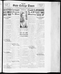 State College Times, March 8, 1934 by San Jose State University, School of Journalism and Mass Communications