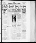 State College Times, March 13, 1934 by San Jose State University, School of Journalism and Mass Communications