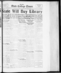 State College Times, March 28, 1934 by San Jose State University, School of Journalism and Mass Communications