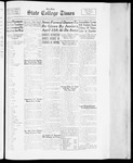 State College Times, April 4, 1934 by San Jose State University, School of Journalism and Mass Communications