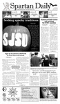 Spartan Daily October 29, 2009