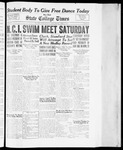 State College Times, April 6, 1934 by San Jose State University, School of Journalism and Mass Communications
