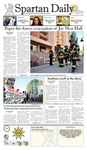Spartan Daily November 4, 2009