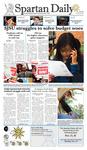 Spartan Daily November 19, 2009