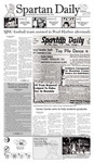 Spartan Daily December 7, 2009