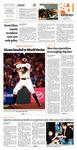 Spartan Daily October 23, 2012
