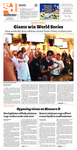 Spartan Daily (October 29, 2012)