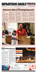 Spartan Daily, December 3, 2013 by San Jose State University, School of Journalism and Mass Communications