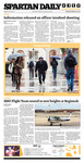 Spartan Daily, February 27, 2014 by San Jose State University, School of Journalism and Mass Communications