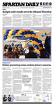 Spartan Daily, April 2, 2014 by San Jose State University, School of Journalism and Mass Communications