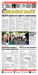 Spartan Daily, May 8, 2014 by San Jose State University, School of Journalism and Mass Communications