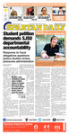 Spartan Daily, October 2, 2014 by San Jose State University, School of Journalism and Mass Communications