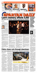 Spartan Daily, October 30, 2014 by San Jose State University, School of Journalism and Mass Communications