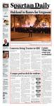 Spartan Daily, December 2, 2014