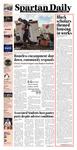 Spartan Daily, December 9, 2014