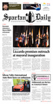 Spartan Daily, January 22, 2015 by San Jose State University, School of Journalism and Mass Communications